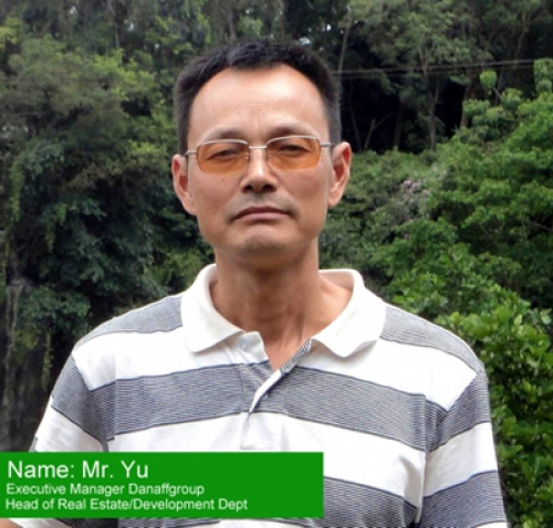 Shuiyun Yu, Executive Deputy General Manager